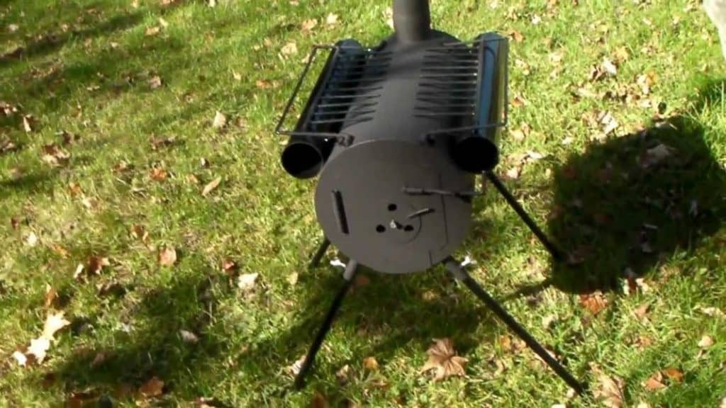 TMS Portable Wood Stove