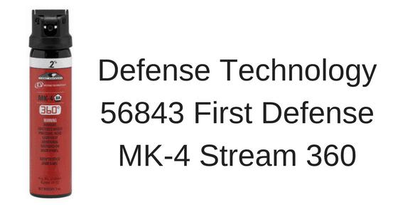 Defense Technology 56843 First Defense MK-4 Stream 360