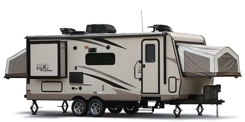 hybrid travel trailers