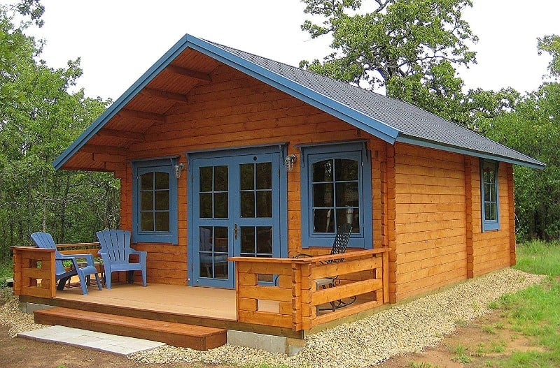 Lillevilla Allwood Getaway Cabin Kit