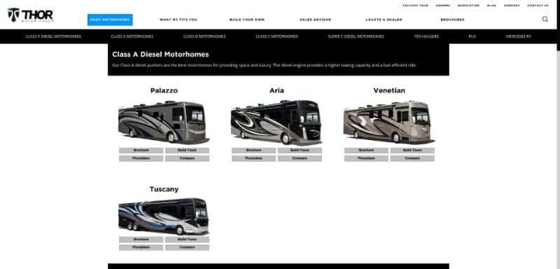 Best Motorhome Brand Manufacturer New 2019 Class A RVs Class C RVs 2019 06 27 13.14.51