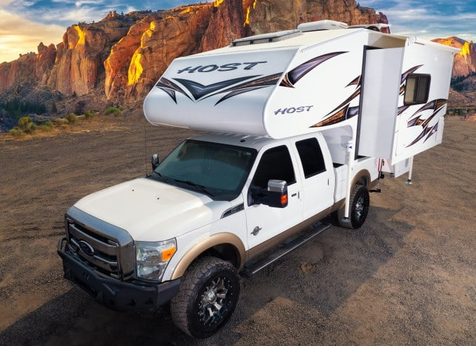 The Tahoe ShortBed Double slide Truck Camper