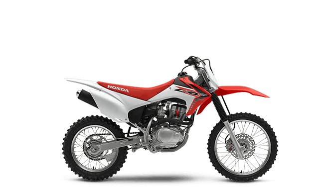 2017 crf150f red
