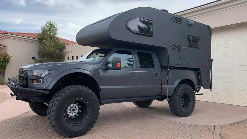 The Jurassic MegaRaptor Overlander camper
