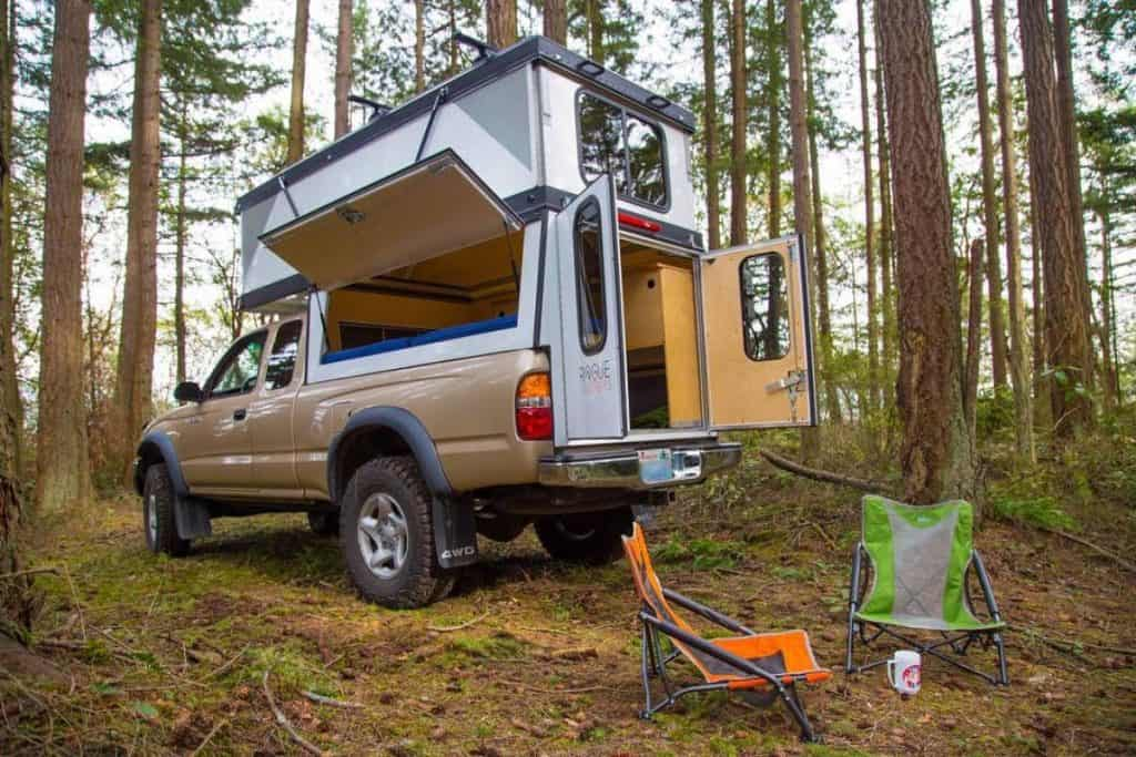 Riding in a truck camper safe to do