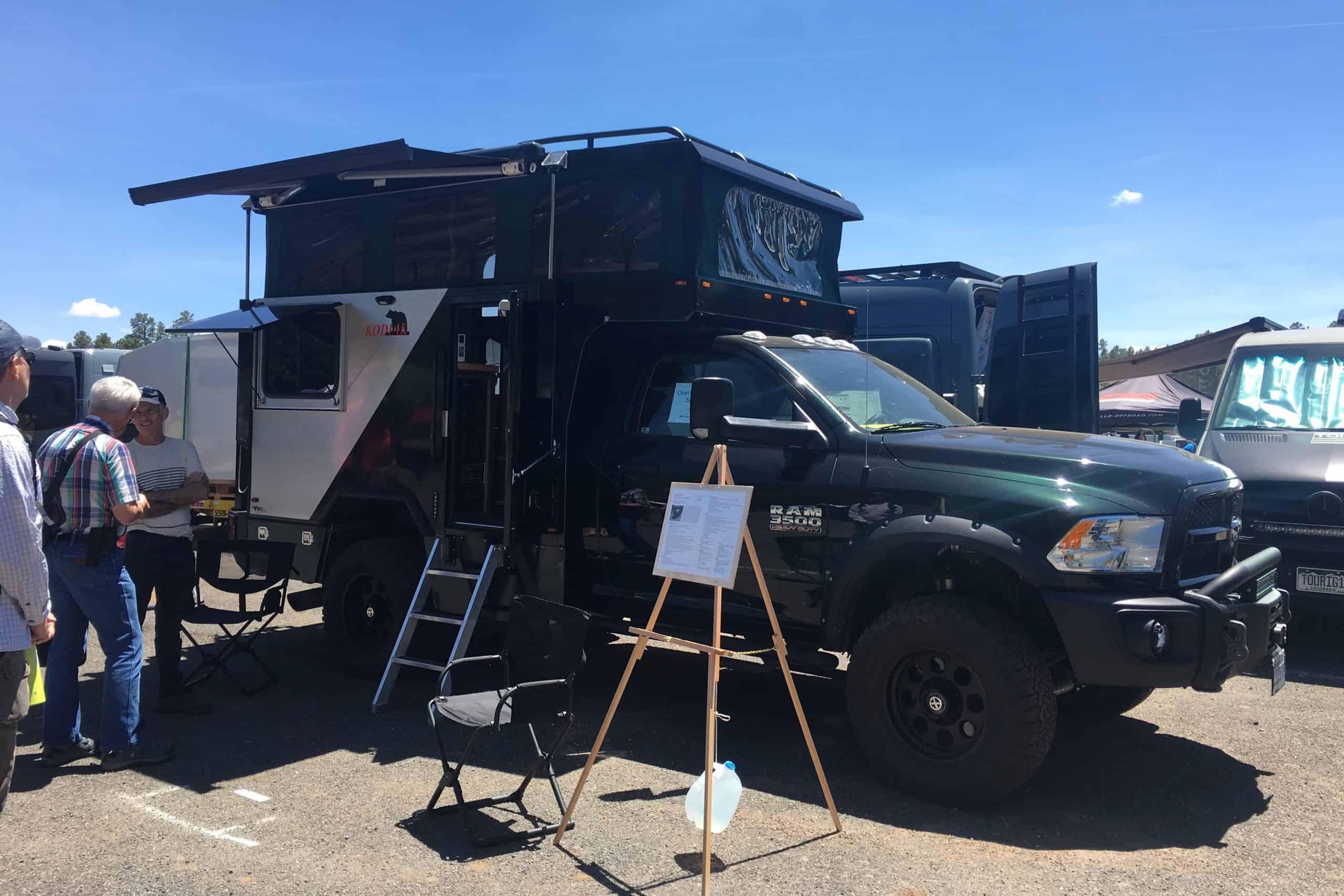 """The Kodiak """"Trailhead"""" Pop-Up Truck camper"""